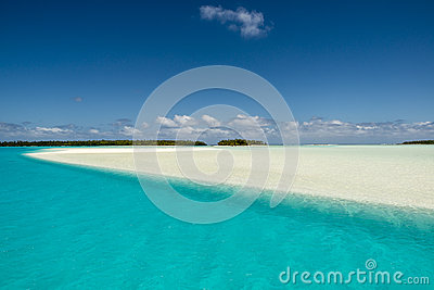 Tourquise Water, white Sand