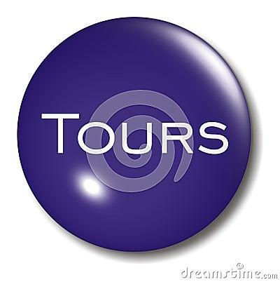 Tours Button Orb sign