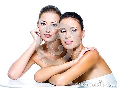 Tow beautiful sexy women