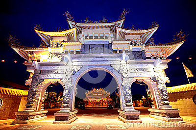 Tow Boo Kong Temple Butterworth Editorial Photo