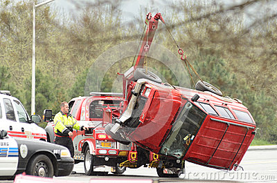 Tow Lift Editorial Stock Photo