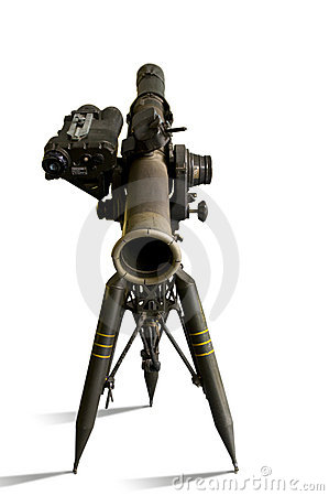 TOW missile launcher