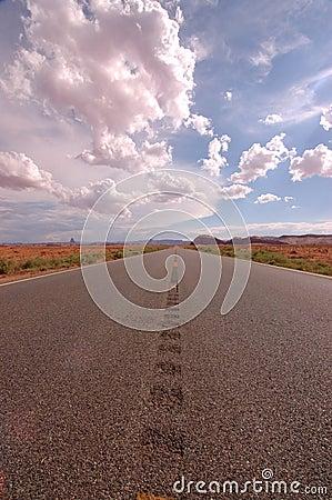 Toward Monument Valley