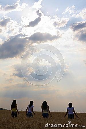 Free Towards Sunset Stock Photography - 10401822