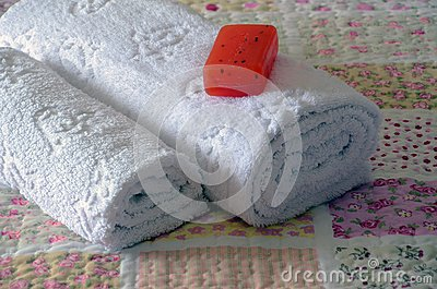 Towel bed