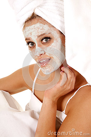 Towel mask spa