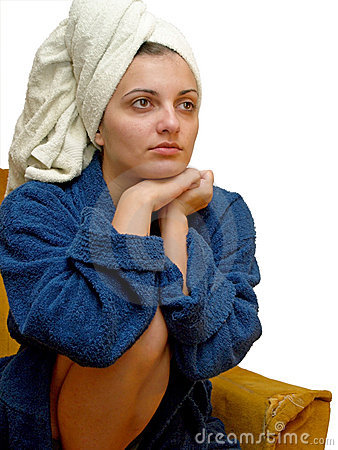 Free Towel Woman4 Stock Photography - 3049112