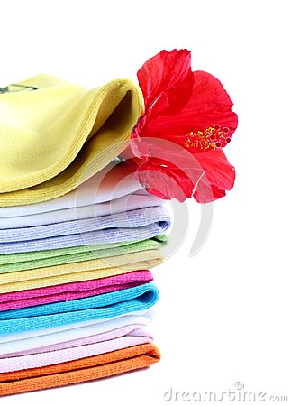 Towels with a fresh aroma