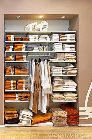 Towels storage