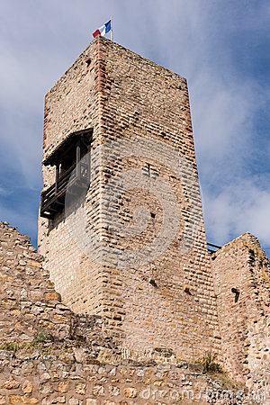 Tower in Alsace, France