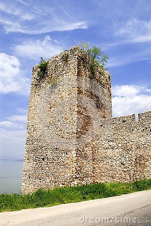 Tower of ancient fortification