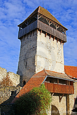Tower of ancient fortress