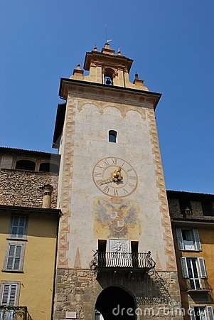 Tower bell, Bergamo