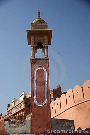Tower in Bikaner fort