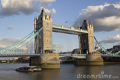Tower Bridge Editorial Photo