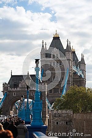 Tower Bridge Editorial Stock Image