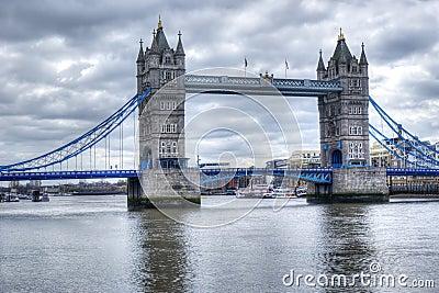 Tower bridge in hdr