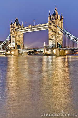 Tower Bridge at London, England