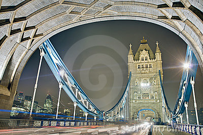 Tower Bridge at London, England