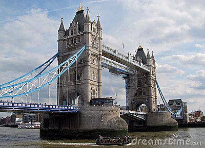 Tower Bridge of London (England) Editorial Image