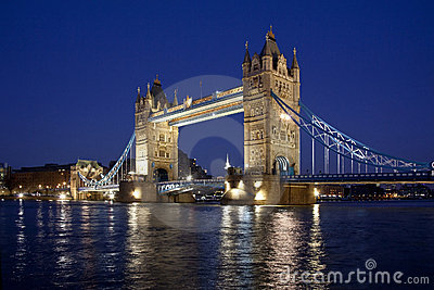 Tower Bridge - London - Great Britain