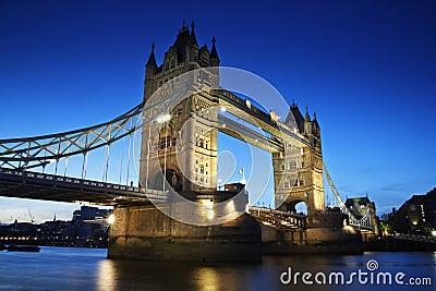 Tower Bridge - London landmark, England