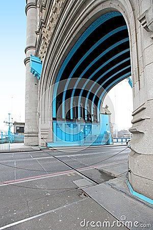 Tower bridge passage