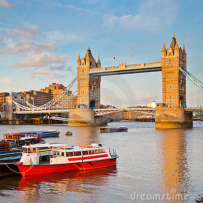 Tower Bridge and Thames