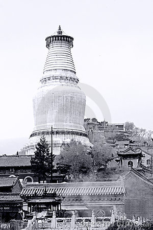 Tower of Buddhism Holy Land.