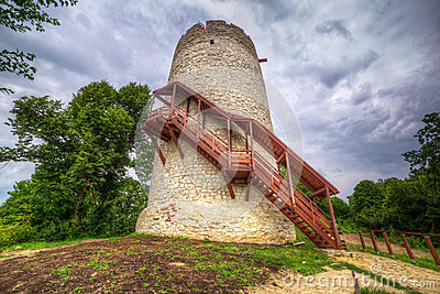 Tower of the castle in Kazimierz Dolny