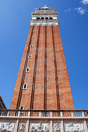 Tower in the center of venice