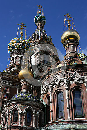 Tower of Church of the Savior on Blood