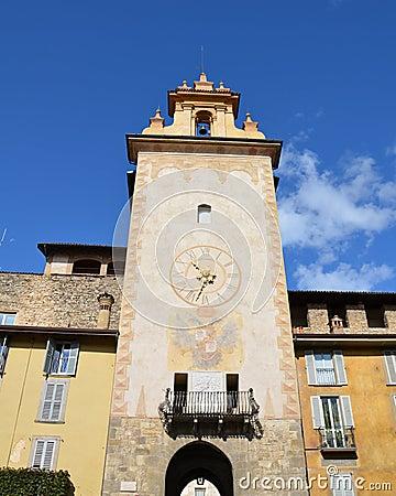 Tower, Citta Alta, Bergamo (Old Town)