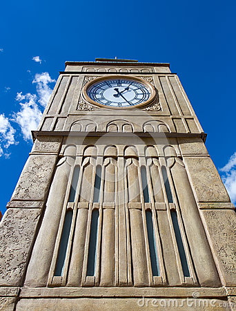 Tower with clock