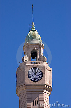 Tower clock in Buenos Aires