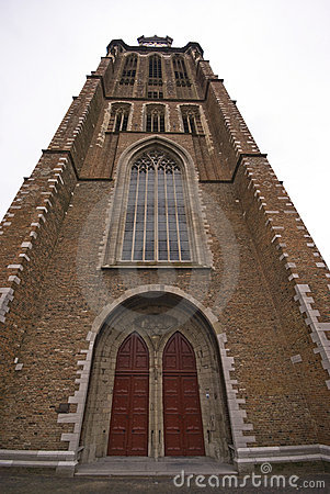 Tower of Dordrecht church