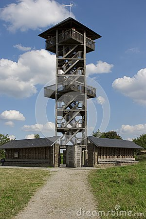 Tower in the Fagnes