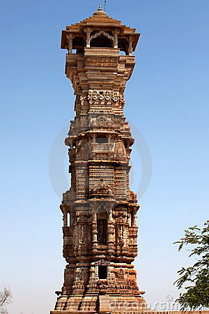 Tower of fame inside the Chittorgarh fort