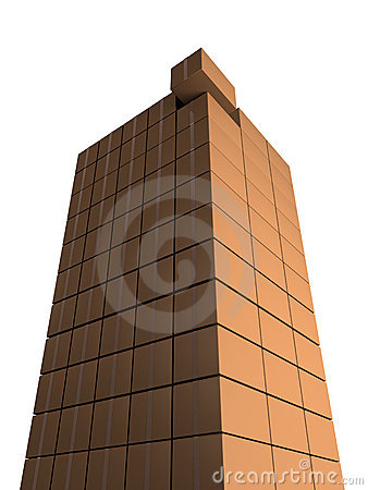 Free Tower From Boxes Stock Photo - 3854340
