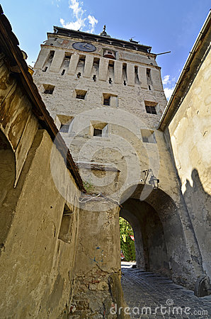 Tower gate  Sighisoara