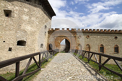 Tower and gate to the Fortress