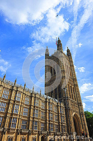 Tower of the House of Parliament, London
