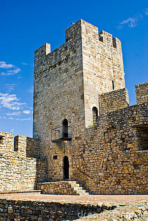 Tower inside Kalemegdan Fortress, Belgrade