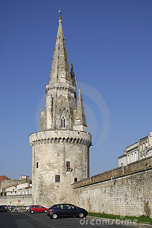 Tower of the Lanterne at lo Rochelle