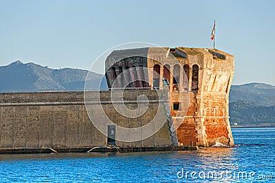 Tower of Linguella, Portoferraio, Isle of Elba.