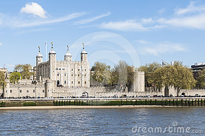 The Tower of London Editorial Stock Photo