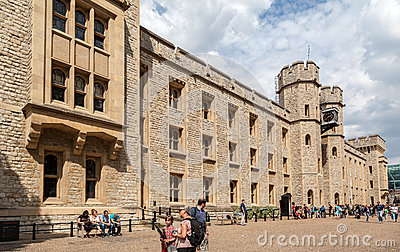 Tower of London Editorial Stock Photo