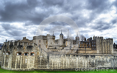 The Tower of London in hdr