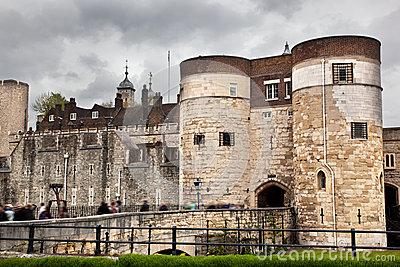 The Tower of London, the UK. The historic Royal Palace