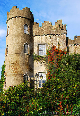 Tower of Malahide castle Ireland, Dublin